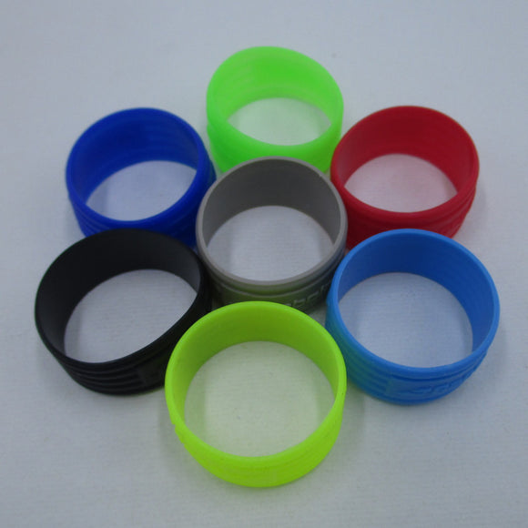 Tennis Racket Handle's Silicone Ring Tennis Racquet Overgrip Use Various Color 7 Colors L354
