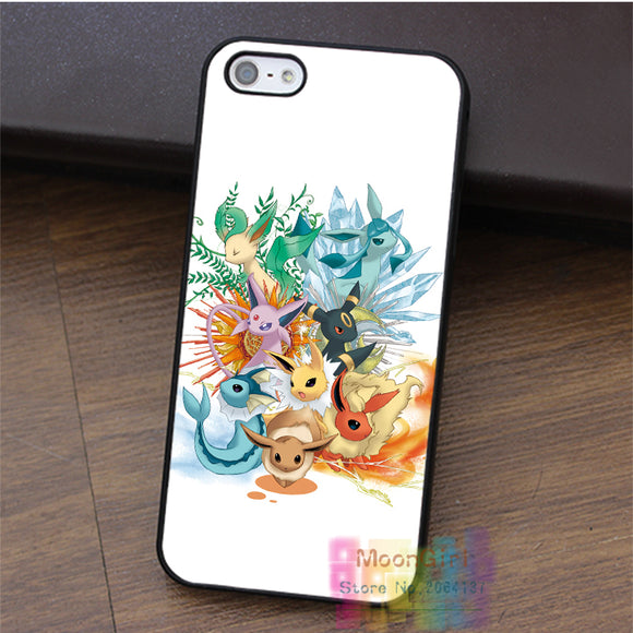 Pokemon Popular Cute Eevee Pikachu Fashion Cell Phone Case
