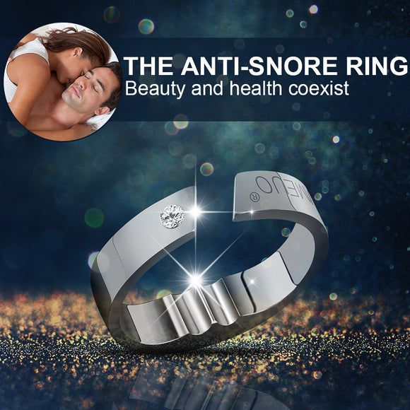 4 Sizes Anti Snore Ring Acupressure Natural Treatment Against Snoring Solution Stopper Device Finger Ring Sleep Health Care