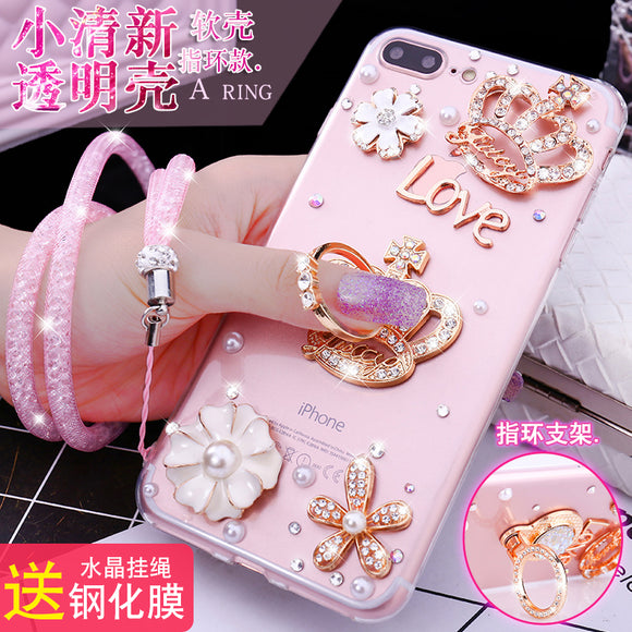Luxury Bling Crystal Diamond Hello Kitty Holder Case