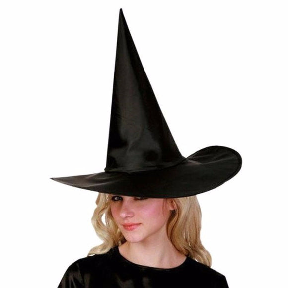 10 Pcs Adult Womens Black Witch Hat For Halloween Costume Accessory Cap Cosplay Party Costume Hat Marine Hat for children Adult