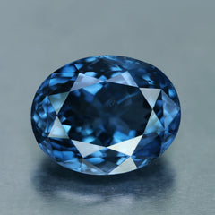 Vivid Blue 5 carat spinel. Rarest color of spinel.