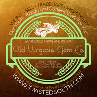 Logo for Old Virginia Gem Co. Suppliers of Exceptionally Rare Gems.