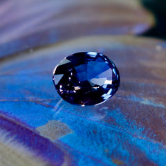 The finest blue spinel is as valuable as sapphire and the price has recently gone up 600%.