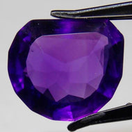 "12.95ct Bolivian Amethyst named ""Deep Purple"""