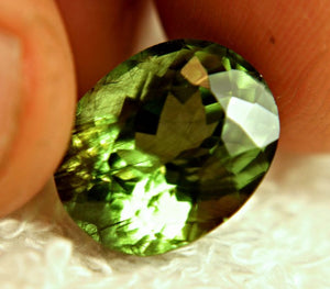 Himalayan Rutilated Peridot ( Rutile Peridot ) Untreated