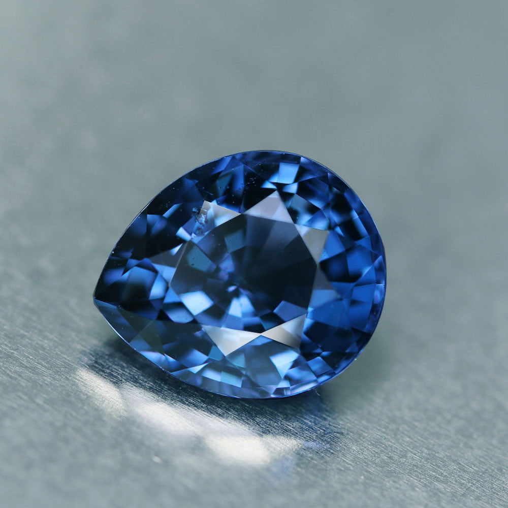 Vivid Blue Spinel, Rivals Top Ceylon Color