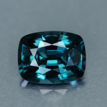3.24 Carat, Peacock Blue Spinel, Cushion Cut, Ceylon, VVS,