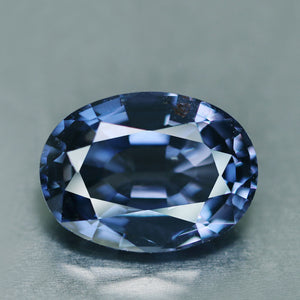 5.12 ct. Color Change Spinel, Blue to Violet, VVS, Sri lanka, Oval