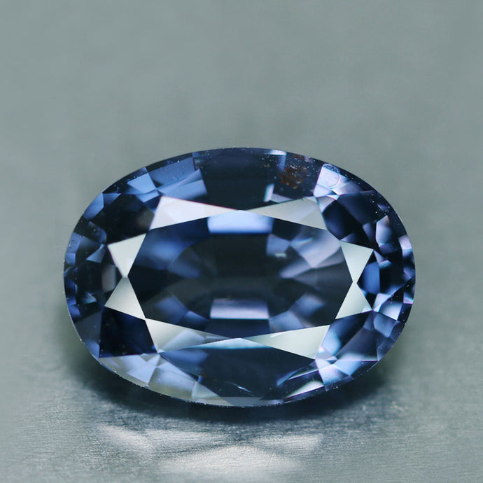 Blue Spinel, 5.12 ct. Color Change, Blue to Violet, GIA Certified, Flawless, Sri lanka, Oval Cut