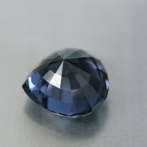 3.92 Carat Fine Blue Spinel, Pear