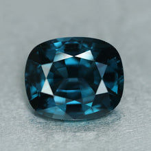 Blue Spinel, 5.06 ct. Peacock Blue, Sri Lanka, Cushion Cut Rare peacock blue spinel Ceylon.