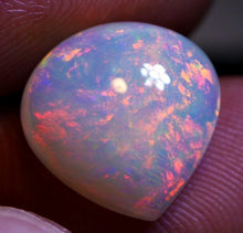 4.50 ct. Ethiopian Welo Opal, Pear Cabochon, Top Fire