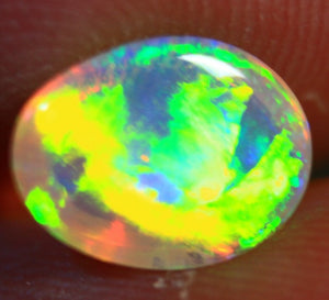 SOLD 1.10 ct. Ethiopian Welo Opal, Top 5/5 Brightness and Color