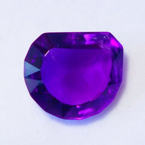"SOLD Master Gem Cutter Named this 12.95 Amethyst ""Deep Purple"""