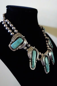 Historic Navajo Jewelry Set for sale by Legendary Artist Fred Guerro.