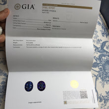 Blue Spinel, 5.12 ct. Color Change, Blue to Violet, GIA Certified, Flawless, Sri lanka, Oval Cut, GIA Report