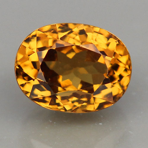 Grossular Garnet, 2.70 ct. Golden Yellow, Oval, VVS, Mali, West Africa