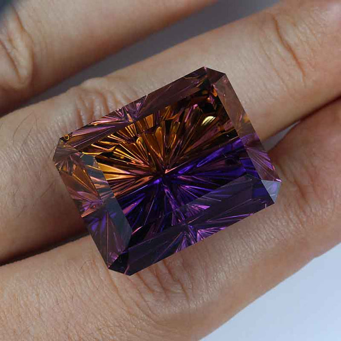 70.85 ct. Ametrine, Exceptional Color and Cut by John Dyer, Top Quality