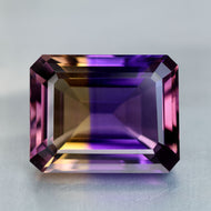 Ametrine 35.73 ct Flawless, Deep color, Top quality. C,C&C are A+ Bolivia