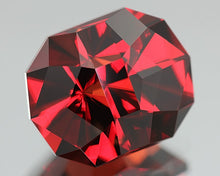 Malaya Garnet, 5.24 ct., Brilliant Red Color Shift to Gorgeous Orange Tones, Precision Cut in U.S., Malaia
