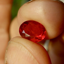Highly Transparent Blood Red-Red, Fire Opal