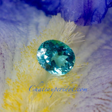 Apatite, 2.22 Ct Paraiba Neon Blue, Oval Cut, Lovely Stone