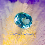 Paraiba Neon Blue Apatite, 2.22 Ct Oval cut, Lovely Stone