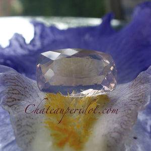 "Amethyst, 16.75 Ct. ""Rose De France"" Lilac, Cushion Cut, VVS, Brazil, Master Cut"