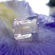 "NICE! ""Rose De France,"" Amethyst, Cushion Cut Lilac, VVS 18.97 Carat, Emerald Cut"