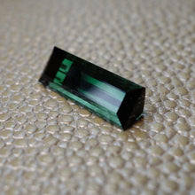 Tourmaline, 5.62 Ct. Blue Green,  Step Cut, No Treatment, VVS