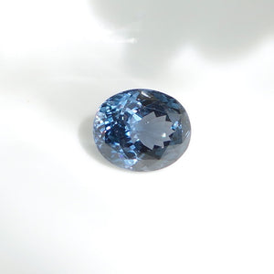 Vivid Ink Blue Spinel Oval VVS Sri Lanka 5.11 carat