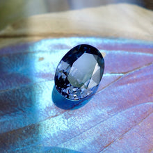 Blue Spinel, 3.36 Ct. Shimmering Vivid Blue, Color Change to Violet, Oval Cut