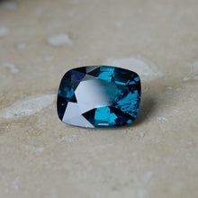 Fantastic Color in this true peacock blue spinel