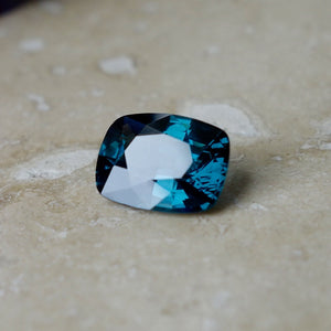 Mesmerizing Blue Spinel, Rarest Peacock Blue