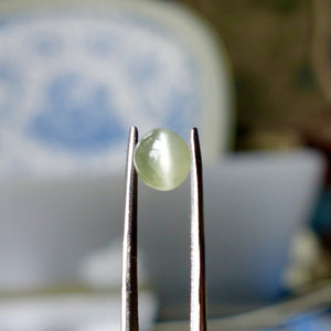 Chrysoberyl Cat's Eye, 1.50 ct. Yellow, Sharp Eye