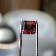 1.46 ct Tri-Color Tourmaline, Octagon Cut, No Heat VS
