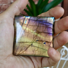 Rare Spectralite Labradorite AAA Quality, Rarest Color's (purple, astral blue) In one Huge Tile