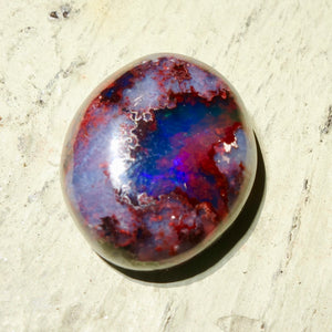 Mexican Matrix Opal, 9 Ct. Blue Landscape, Cantera