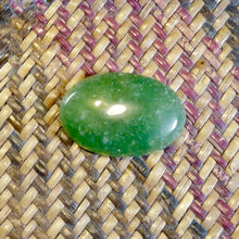 Jade / Jadeite, 28.20 ct. Oval Cabochon, High Polish, Translucent