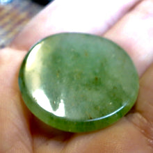 43.20 Carat, Green Aquamarine Round Cabochon, Ready to Mount