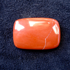 Red Jasper Cabochon, 55.35 Carats, Ready to Mount
