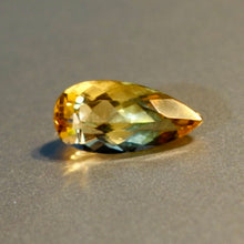 2.56 carat Imperial Topaz, Pear Shape, Top Color