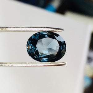 3.54 Carat Oval, Blue Spinel, Sri Lanka