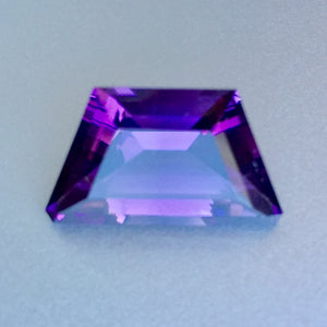 Amethyst, 11.55 ct. Deep Violet Plum, American Arizona, United States, Four Peaks Mine, Rarest Amethyst on Earth.