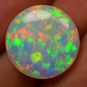 14.15 ct. Ethiopian Welo Opal, Full Fire, All Colors, 5/5 Rating Top Quality SEE VIDEO