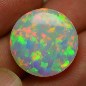 What is the finest colors in opal? This opal has them all.