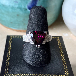 Hottest color for engagement ring.