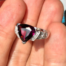 What is the rarest color of garnet? Plum is a contender.