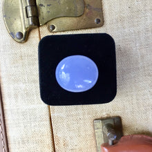 Turkish Blue Chalcedony, 40 ct. Oval Cabochon, Gorgeous